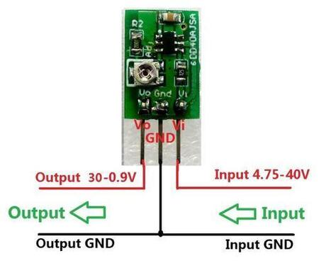 DD40AJSA Adjustable Step-Down Buck Converter Module 5-40V To 1-30V Replace LM7812 LM7805 LM2596 - Step Down Module - Arduino, 3D Printing, Robotics, Raspberry Pi, Wearable, LED, development boardIC...   Modules   Scoop.it