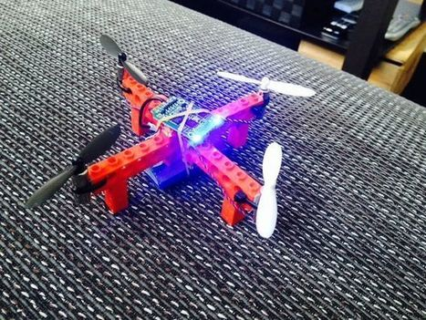 Cheap flying Lego quadcopter | Open Source Hardware News | Scoop.it