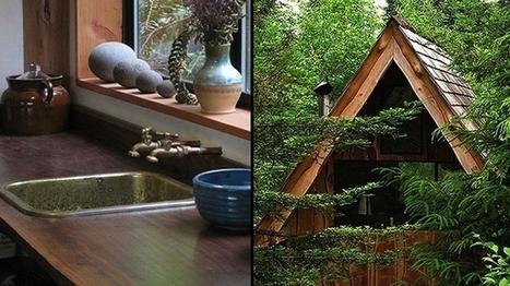 Japanese Forest House : une Tiny House japonaise pour moins de 10000 euros | Efficycle | Scoop.it