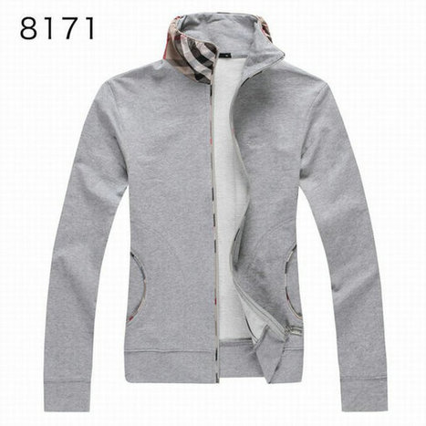 Burberry Long Sleeve Fleece Coats Grey Cloth For Women | Burberry Shirts mens and  womens | Scoop.it