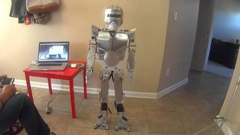 Zeus the homemade humanoid robot  #piday #raspberrypi @Raspberry_Pi | Raspberry pi | Scoop.it