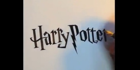 Artist Seb Lester Freehand Famous Logos in this Awesome Video | ahlifikircom | Scoop.it