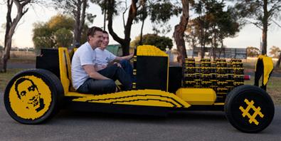 DEVELOP3D blog - Half a million Lego pieces + 256 pistons = 1 life-size 20mph car | PTC 3D CAD, PLM and PDM | Scoop.it
