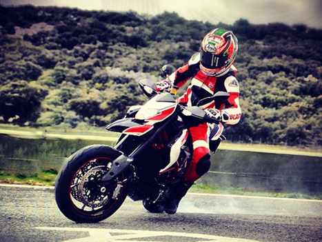 Latest News Motorcycle - Ducati Nicky Hayden whip the latest version of the Hypermotard | Latest Bikes News | latestbikesnews | Scoop.it
