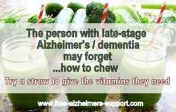 Helping the Person with End Stage Alzheimer's dementia to Eat - Alzheimers Support | Alzheimer's Support | Scoop.it