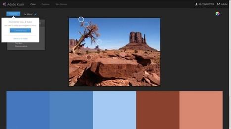 Adobe Kuler : création de thèmes colorés | Guillaume RICHARD | Les outils d'HG Sempai | Scoop.it