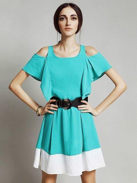Mini A-line Regular Sleeve Round Neck Dresses : KissChic.com | Kisschic Fashion Dresses | Scoop.it