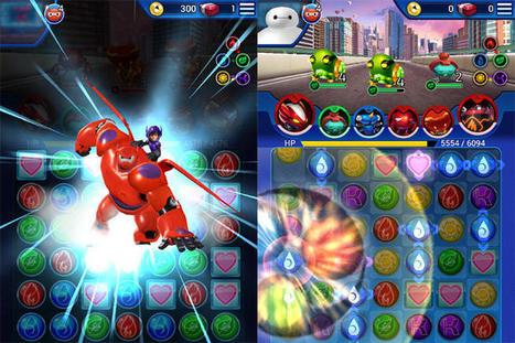 Made in Singapore: Disney's Big Hero 6 Bot Fight mobile game tie-in - CNET | Smart Media | Scoop.it