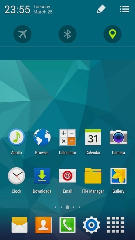 CM11 CM10.2 GALAXY S5 TW theme v1.0.3 | ApkLife-Android Apps Games Themes | Cm | Scoop.it