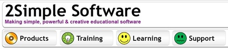 2Simple Software - Simple, powerful & creative educational software | SchooL-i-Tecs 101 | Scoop.it