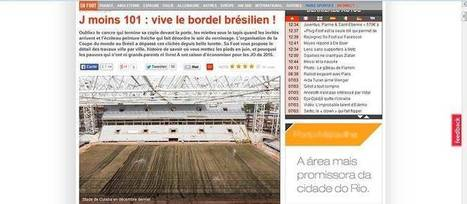 Sem papas na língua, revista francesa esculacha Copa no Brasil | Brasil no mundial 2014 | Scoop.it