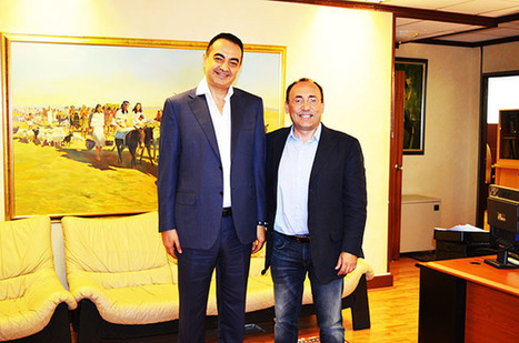 Mohamed Dekkak with Mouafac Harb MTV | Adgeco Group of Companies | Scoop.it