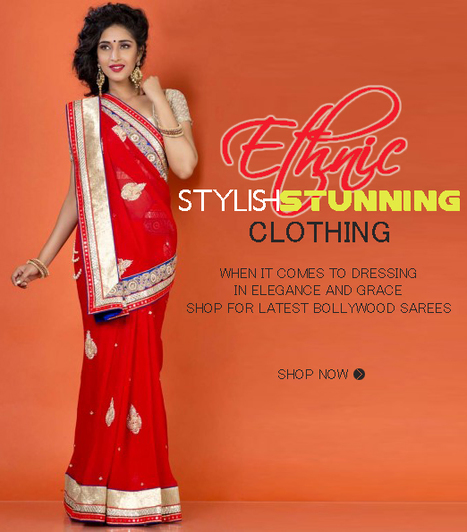 Sarees are ready to evoke the beauty of women in you | Online Shopping India | Scoop.it