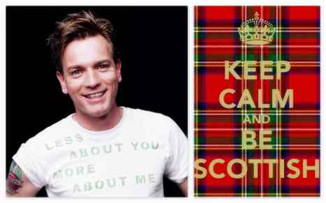 A pure Scottish like Ewan Mcgregor - HD - NLCART | NLC BY NADINE LAURE CHEVREMONT | Scoop.it