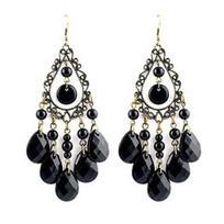 Elegant - Water Drop Beads Dangle Earrings   Jewelry   Scoop.it