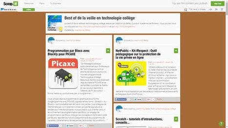 Best of de la veille en technologie collège de Claude Bodin - Technologie Éducation Culture | côté sciences | Scoop.it