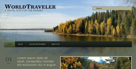 22 Great Free Travel Wordpress Themes for Developers   Get your PSD's Converted to HTML   Scoop.it