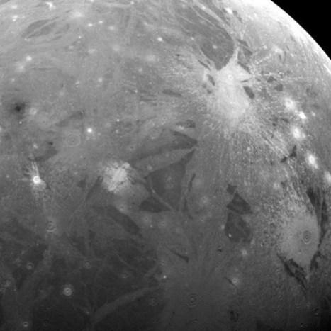 Jupiter's moon Ganymede mapped. Here it is: | Geology | Scoop.it