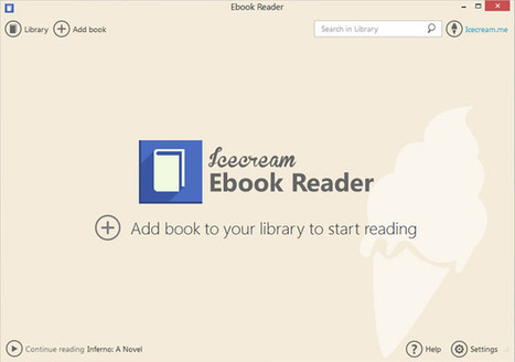Software lettore di e-book per windows - Ebook Reader: free MOBI and EPUB reader for Windows - Icecream Apps | AulaMagazine Scuola e Tecnologie Didattiche | Scoop.it