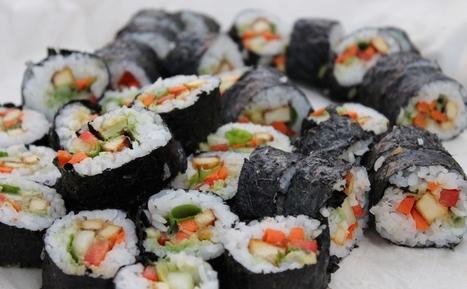 Sushi végé | Recettes vegan - Christiane Bailey | SUSHIJU | Scoop.it