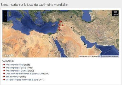 L'UNESCO et des professionnels du patrimoine français et suisses se mobilisent pour la sauvegarde du patrimoine syrien | Maghreb-Machrek | Scoop.it