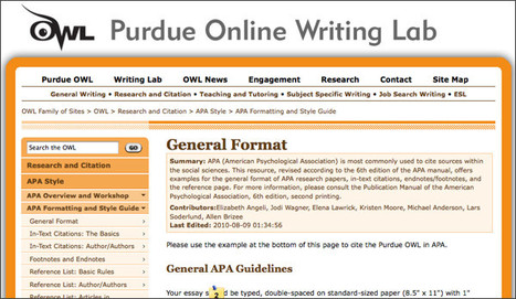 The Purdue OWL: Grammar | Writing On A Budget | Scoop.it