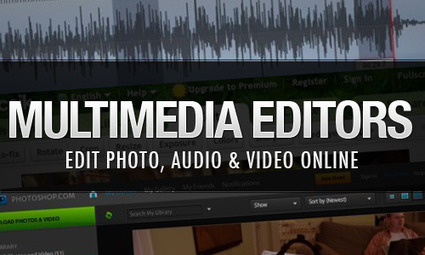 30+ Free Online Multimedia (Photo, Audio, Video) Editors | Edtech PK-12 | Scoop.it