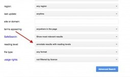 How do I search in Google using the reading level filter? | The Spectronics Blog | Education | Scoop.it
