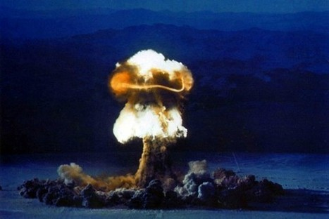 "US nuclear bomb test ""Priscilla"" on June 24, 1957 - Slate Magazine 