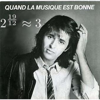Quand la musique est bonne, 3^12 = 2^19 | glanage sur la toile | Scoop.it