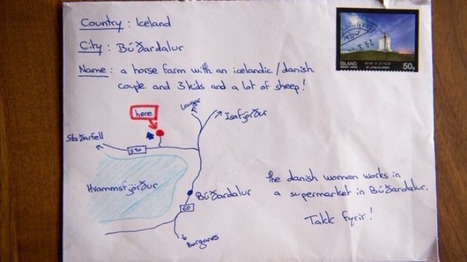 Icelandic Postal Workers Go Above and Beyond When There is No Address – Just a Hand-Drawn Map - Good News Network | This Gives Me Hope | Scoop.it