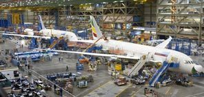 Boeing freezes 787 production line in place for fifth time | Boeing Commercial Airplanes | Scoop.it