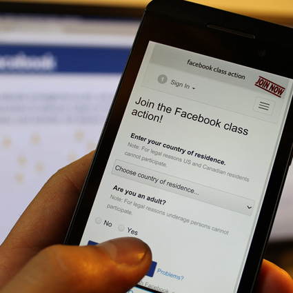 Join the Facebook Class Action!   16s3d: Bestioles, opinions & pétitions   Scoop.it