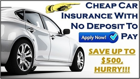 Cheap car insurance with no deposit to pa | Free Insurance Quotation | Scoop.it