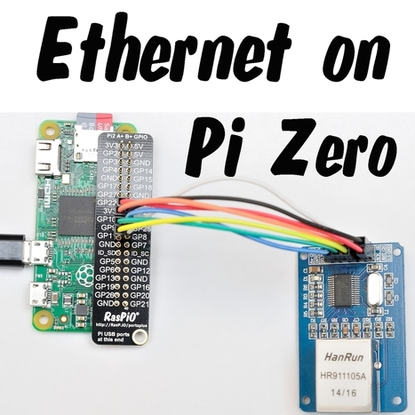 Ethernet On Pi Zero – How To Put An Ethernet Port On Your Pi | Raspberry Pi | Scoop.it