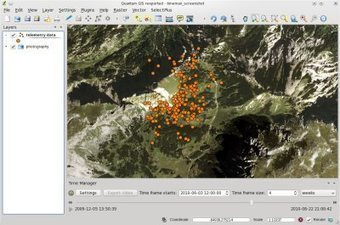 Browsing Spatio-Temporal Data With QGIS Time Manager Plugin | Archaeology Tools | Scoop.it