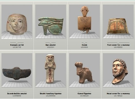 UCL Petrie Museum launches 3D Online Object Library | The Archaeology News Network | À la une | Scoop.it