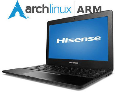 Arch Linux ARM Can Now Be Installed on Rockchip Based Hisense Chromebook | Embedded Systems News | Scoop.it