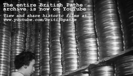 Great News: Entire British Pathé Archive Now on YouTube | Swing DJ Resources | Scoop.it