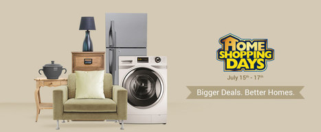 Flipkart Home Shopping Days - Biggest Sale on Home Products On 15th-17th July 2016   Gifts Gallery - Home Appliances, Home Furnishing, Home Decor, House Hold, Beauty Products   Scoop.it