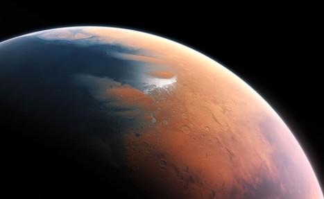 Des milliers de glaciers se cachent sous la surface de Mars | Beyond the cave wall | Scoop.it