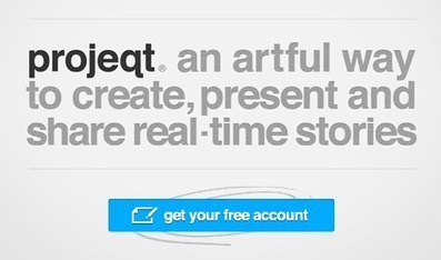 projeqt - an artful way to create, present and share real-time stories | MeeMetICT | Media, Technologie, Apps en Tools in het Onderwijs | Scoop.it