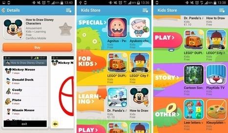 Así es la Kids Store del Samsung Galaxy S5 | Samsung mobile | Scoop.it