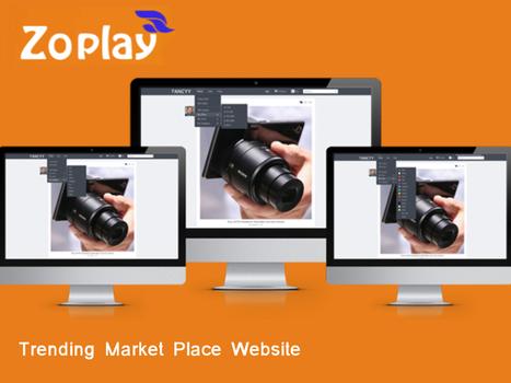 Trending Market Place Website | Webdesign Templates | Scoop.it