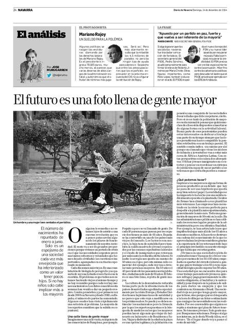El futuro es una foto llena de gente mayor | Ordenación del Territorio | Scoop.it