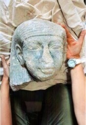 Luxor Times: Statue's head found in Thutmosis III temple | Aladin-Fazel | Scoop.it