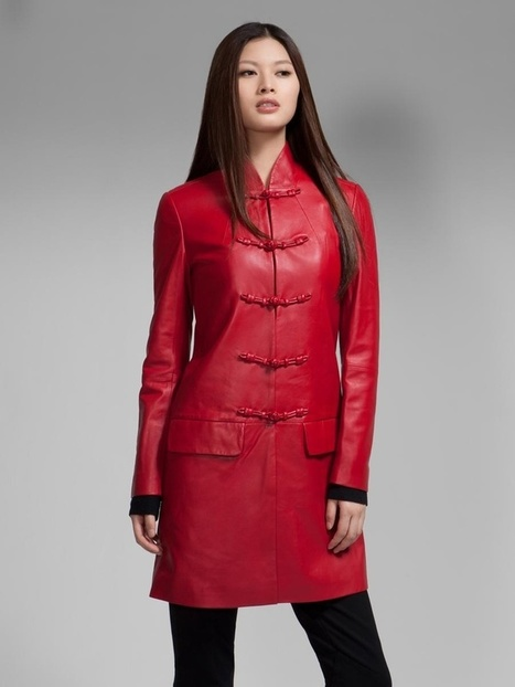 Ladies Leather Coats: Beautiful and Functional – Leathernxg | LeatherNXG Online | Scoop.it