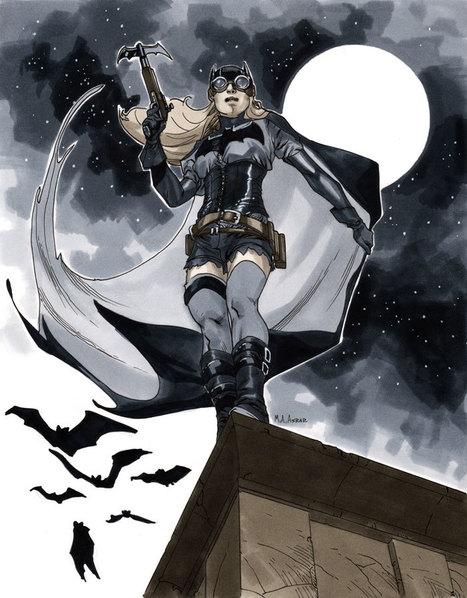 A Daring Steampunk Batgirl by *MahmudAsrar on deviantART | Steampunkerie | Scoop.it