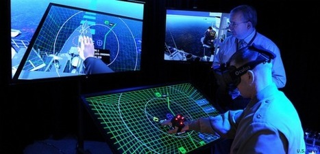 Virtual reality headset helps Navy simulate future workspaces | Remembering tomorrow | Scoop.it
