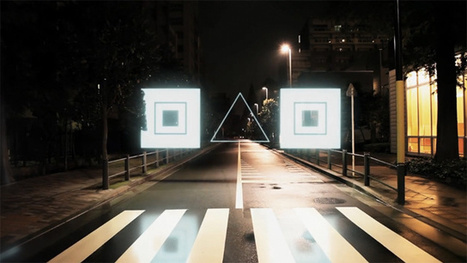 Toyko Flashes To Life With CG Shapes In Night Stroll   The Creators Project   Tech and Futurism   Scoop.it
